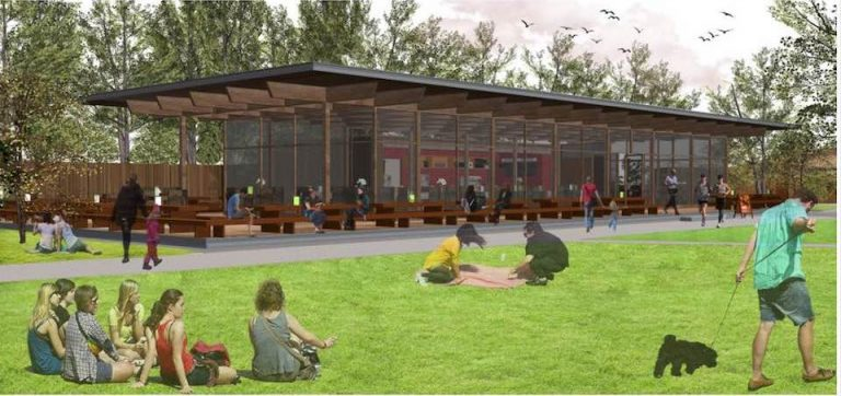 A new tea house for Hove Park?