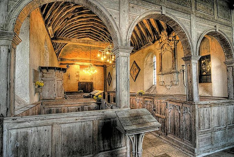 Two ancient rural churches in Sussex: Lecture by Nicola Westbury and Gabriella Misuriello
